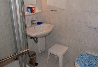 Badezimmer der 29qm Wohnung