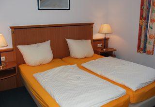 Schlafzimmer der 49qm Wohnung